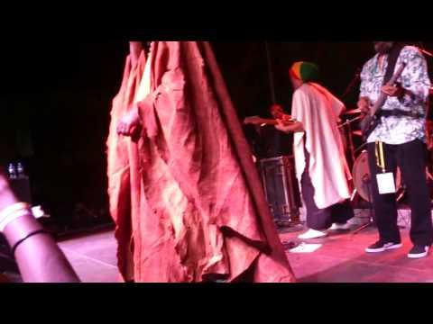 Tiken Jah Fakoly concert in Kigali, Rwanda