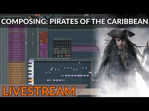 Composing Live: Pirates Of The Caribbean Medley - Part 1 - Hans Zimmer in FL Studio