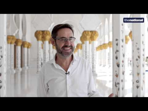 Meet the designer of Sheikh Zayed's Grand Mosque courtyard - video