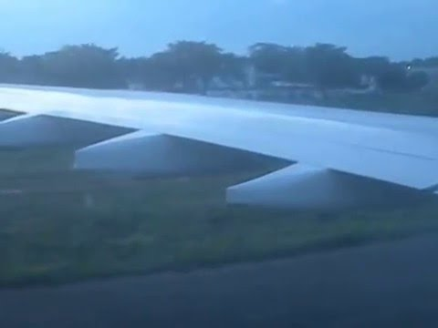 Landing in Lome airport from Paris after 6hrs+ trip.