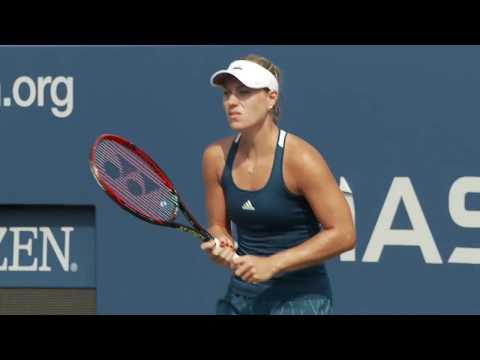 [LIVE] US Open Tennis 2017 Qualifiers Day 01: Angelique Kerber Practice