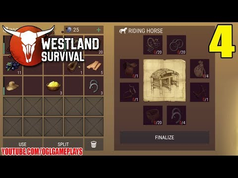 Westland Survival - Starting Stables Gameplay #4  (Android/iOS)