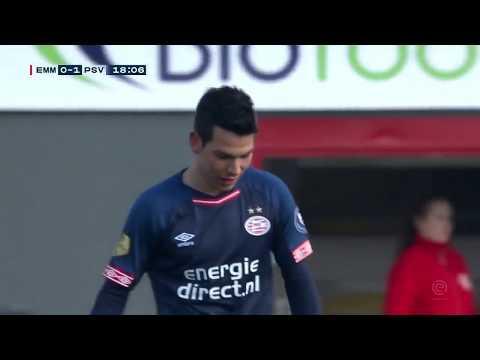 Hirving Chucky Lozano vs FC Emmen (HD) 2019