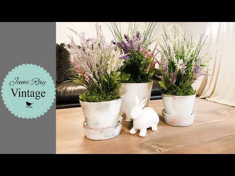 How To Age A Terra Cotta Pot | Spring Farmhouse Ideas