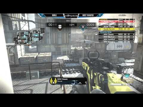 Noble Vs Most Wanted - Game 3 (eSports Report - Oct 7th 2014)