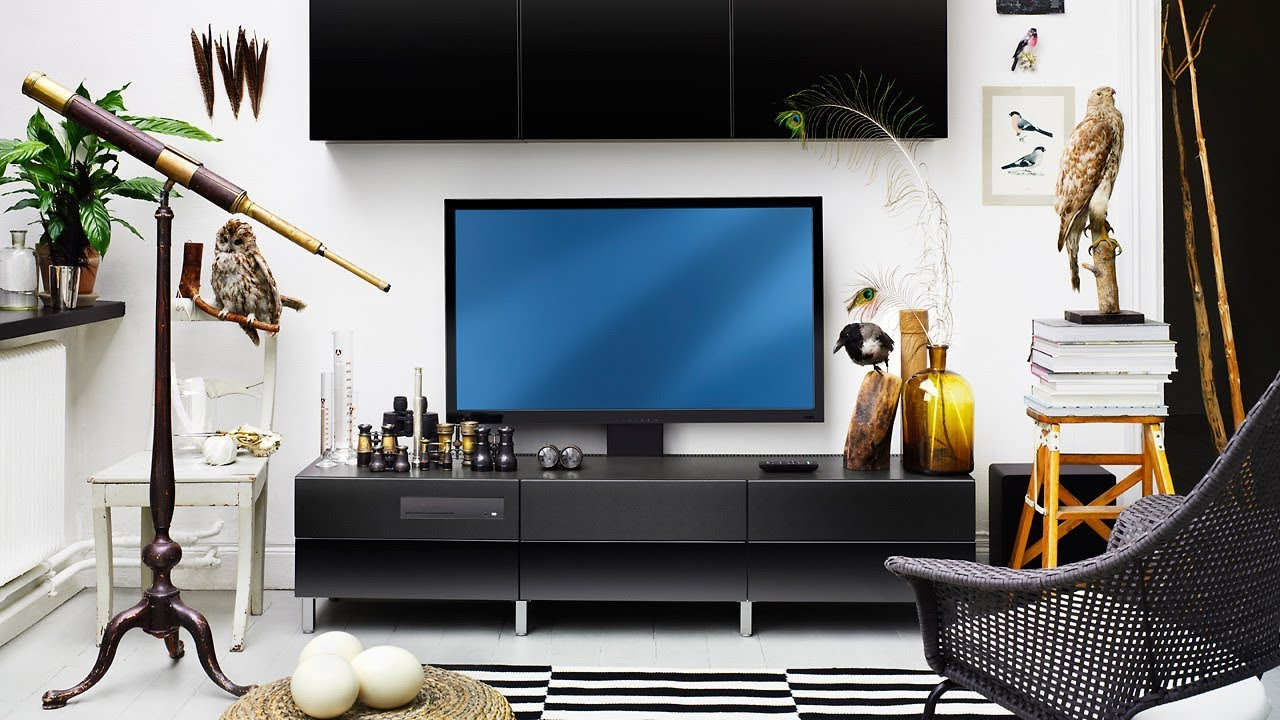 20 Living Room Ideas for Setup with flat screen TV - YouTube