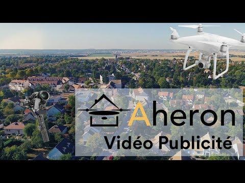 Vidéo publicité agence immobilière en drone #2 - Aheron