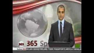 5 ARALIK 2012 365 SPOR HABERLERİ - YUNUS EMRE YEŞİL