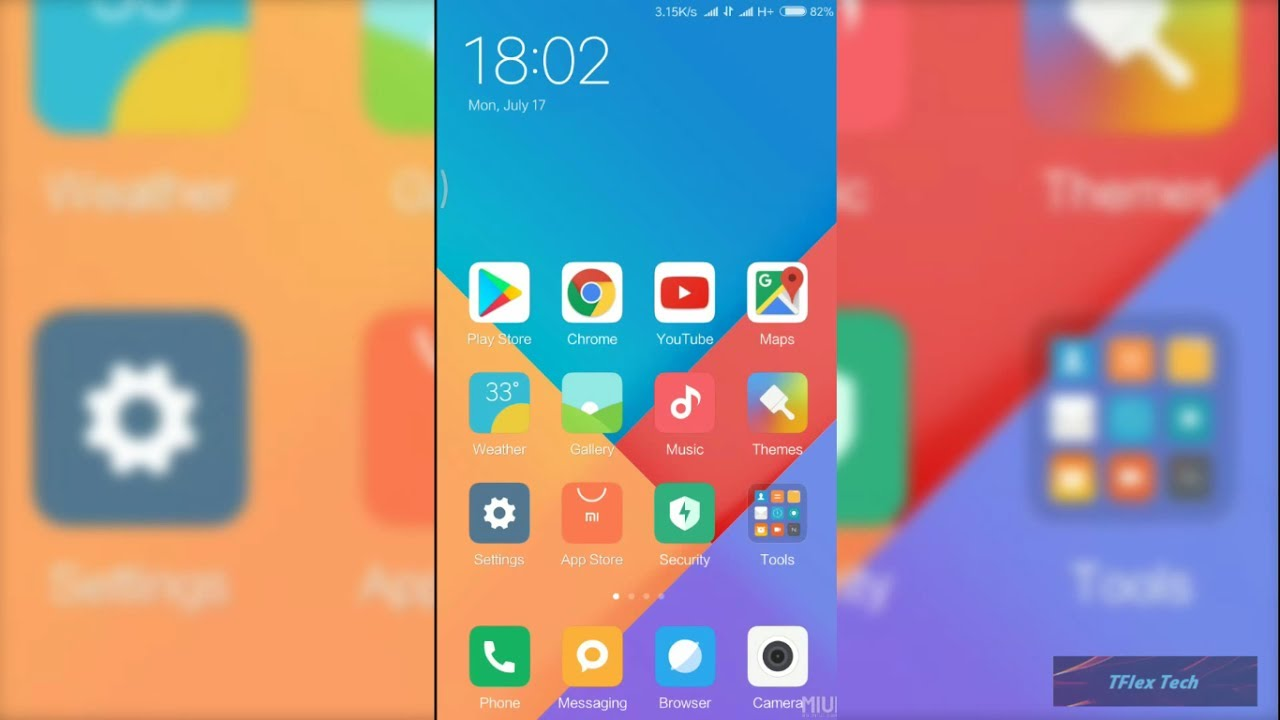 MIUI 9 stock wallpapers | First slot launched 2017