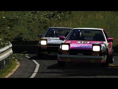 Rfactor | Ebisu Touge Drift | AE86 n2 | FunnyCat TV