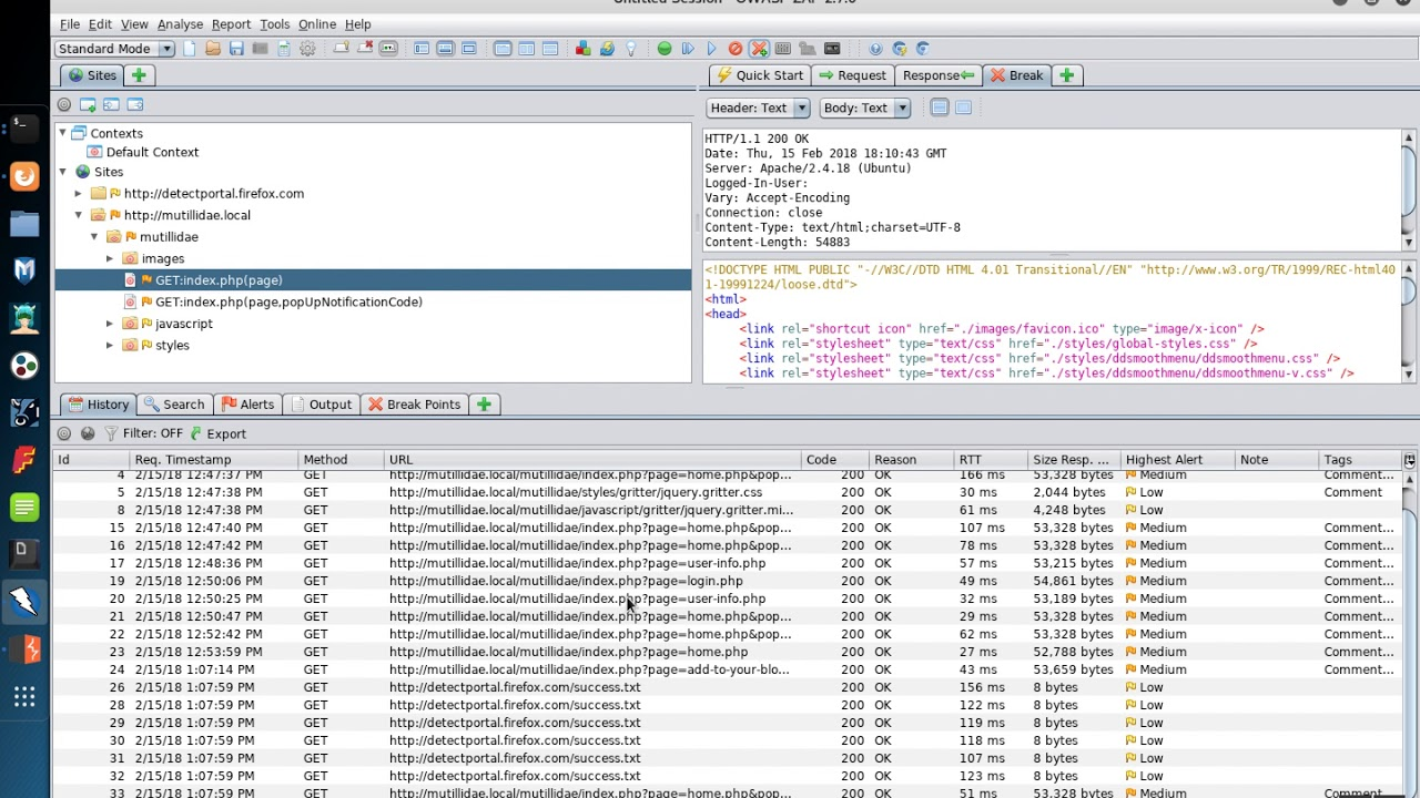 OWASP ZAP Breakpoints: Part 2 - Trapping Specific HTTP Requests