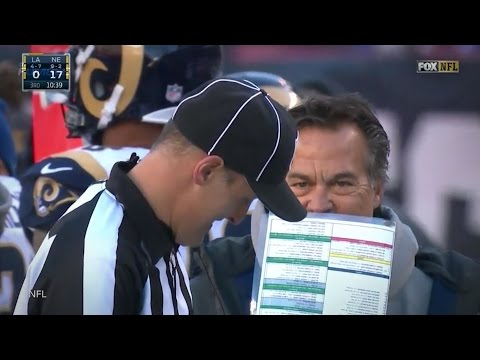 Jeff Fisher Tries To Challenge Play, Hilariously Can't Find Flag