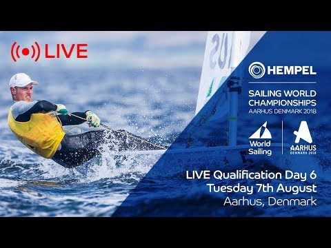 LIVE Sailing  Hempel Sailing World Championships  Qualification Day 6
