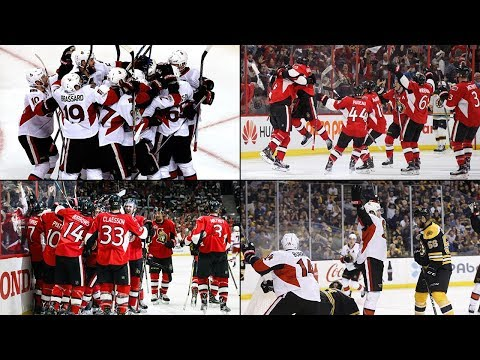All Ottawa Senators Overtime goals from the NHL 2017 Playoffs in order