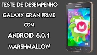 Desempenho do Galaxy Gran Prime com Android 6.0.1 - Redes sociais e Jogos pesados