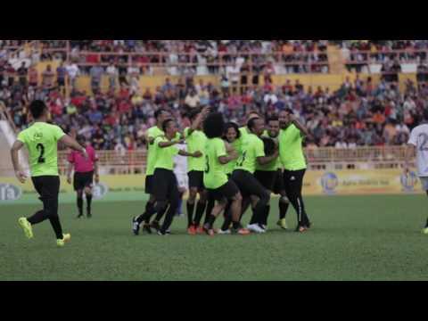 Perlawanan Amal Hari Malaysia 2016 - Dugong All Stars vs Pilihan Harimau Malaysia