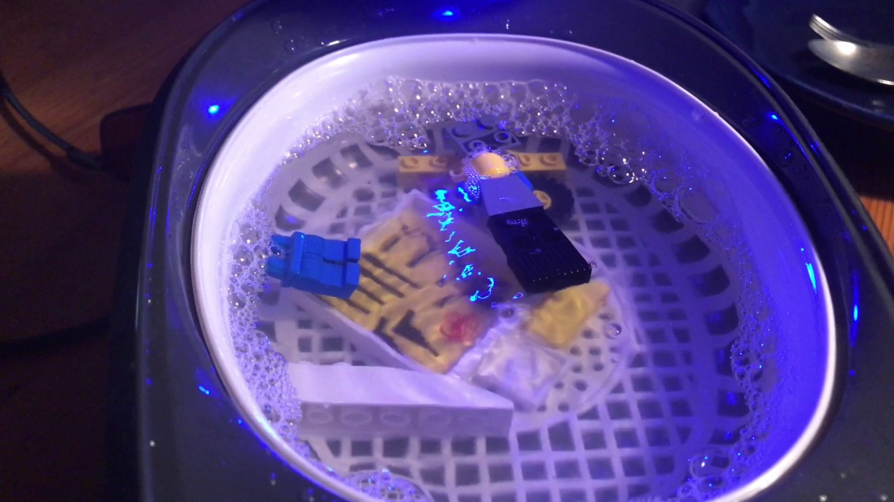 how to clean lego with an ultrasonic cleaner lego brick cleaning diy