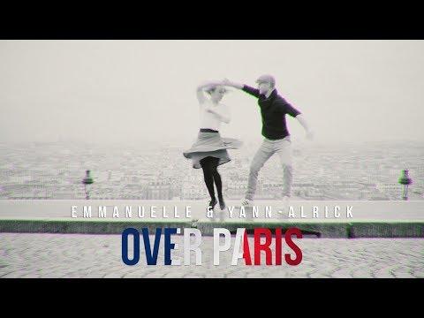 Emmanuelle Berne & Yann-Alrick Mortreuil in Over Paris