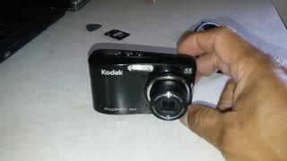 testing new camera; Kodak FZ43