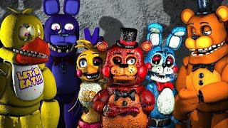 SURROUNDED Five Nights At Freddy's Animations Compilation Animated SFM FNAF