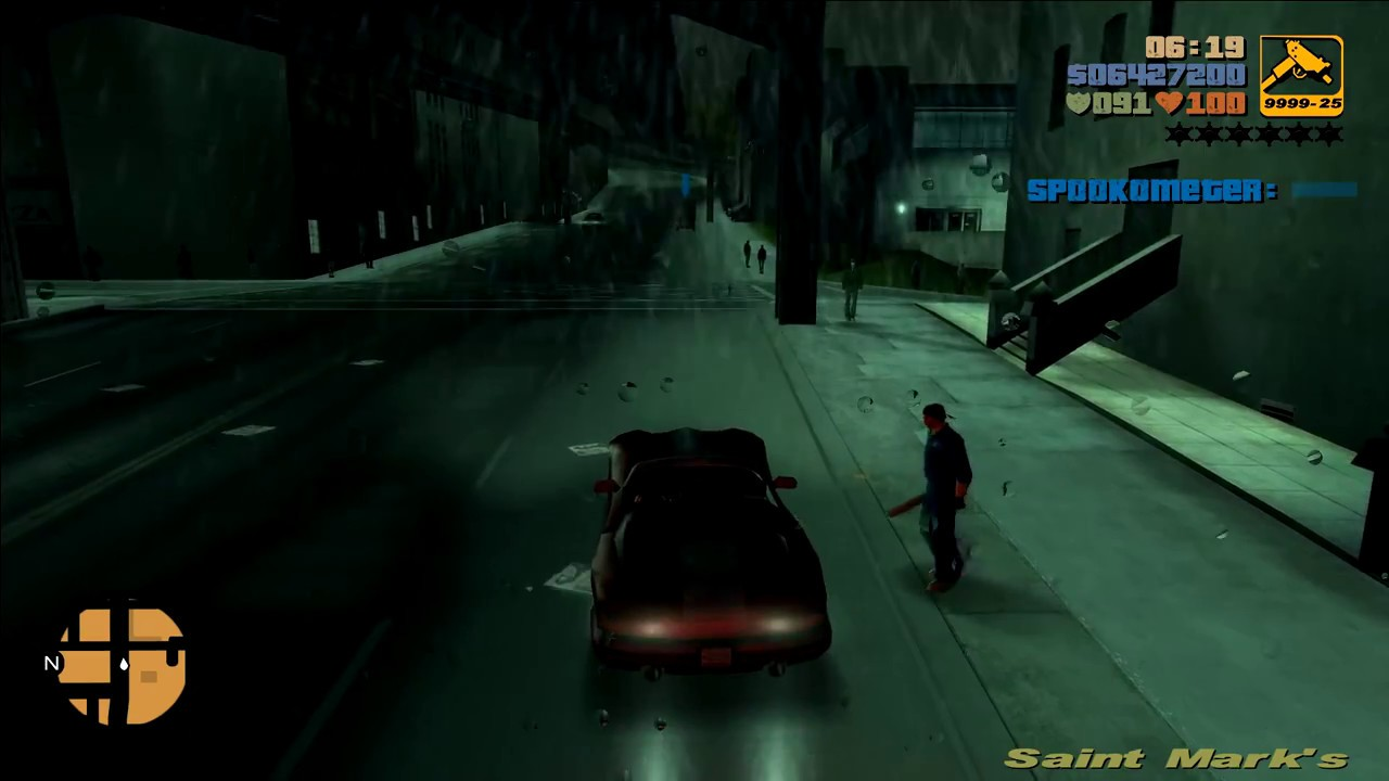 Grand Theft Auto III Reborn - Cutting The Grass [1080p|60fps]