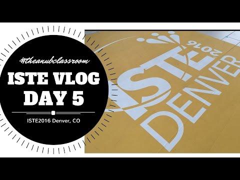 ISTE Vlog Day #5: The Anub Classroom
