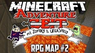 PARKOUR mit AUSRAST FAKTOR 2  Minecraft Adventure Zeit mit Zombey amp; ungespielt