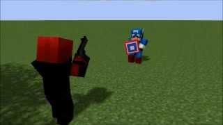Captain America: The Minecraftian Hero | Minecraft Animation ( HD)