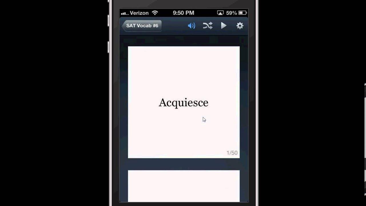 Quizlet Flashcard Study App for iOS
