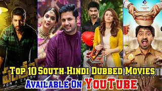 Top 10 Big South Hindi Dubbed Movies Available On Youtube || Part-48 || Filmytalks ||