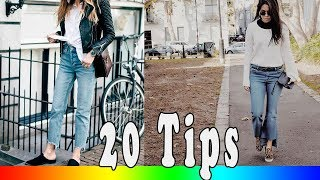 20 Style Tips On How To Wear Cropped Jeans For Fall