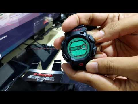 Unboxing Casio G-shock Gulfman G-9100-1 : The Ninja Turtle