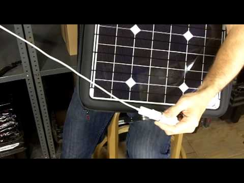 Generator Solar Laptop Charger