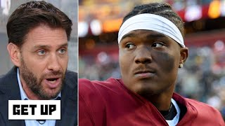 Greeny rips the Redskins for ruining Dwayne Haskins