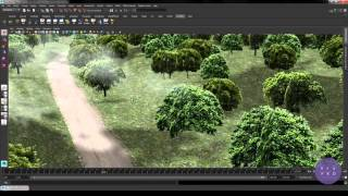 Maya Viewport 2.0 in production | part 03 Lights, transparency, ShaderFX