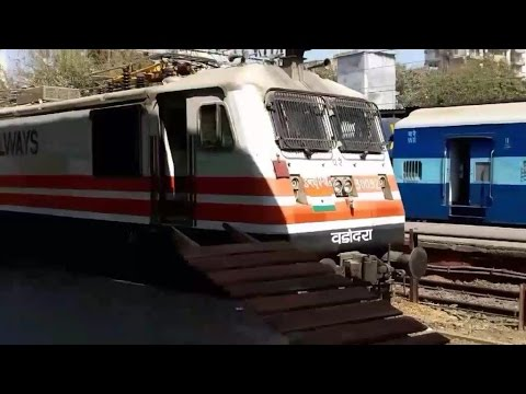 Mumbai to Vadodara by BCT ADI Double decker express