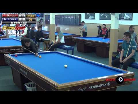 T. Blomdahl vs M. Torres - #26 - MDB's 2015 USBA Open