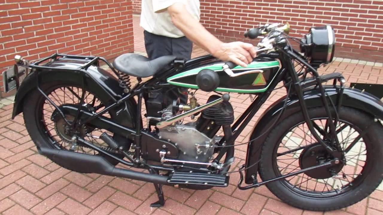 motorcycle pic d  D-RAD R9 Oldtimer Motorrad Start Antique Veteran Motorcycle - YouTube