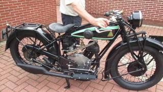D-RAD R9 Oldtimer Motorrad Start Antique Veteran Motorcycle