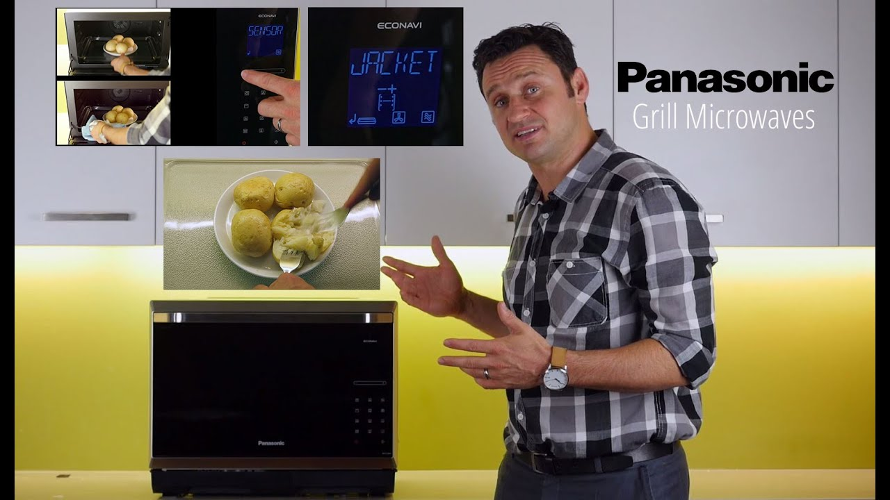 Panasonic NN-CD997S Microwave Oven - Convection Microwaves
