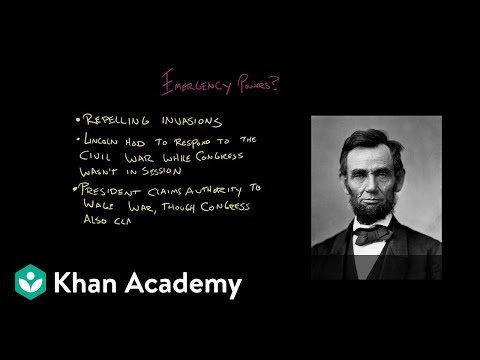 Article II of the Constitution   US Government and Politics   Khan Academy