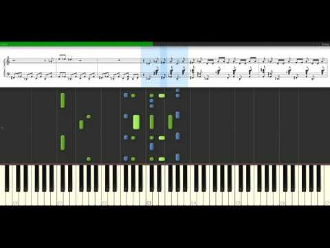 Eminem - One shot 2 shot [Piano Tutorial] Synthesia