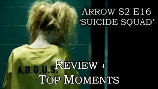 Arrow Season 2 Episode 16 - HARLEY QUINN - Review + Top Moments