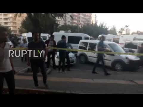 Turkey: Twelve injured in bomb attack on police bus in Mersin