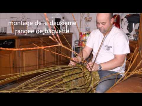 fabrication d un panier en osier 1 youtube. Black Bedroom Furniture Sets. Home Design Ideas