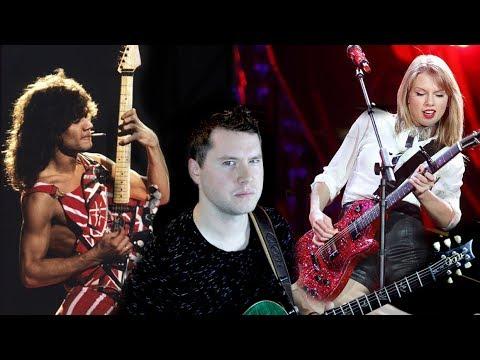 1eba6742fbe Is Taylor Swift REALLY the new Van Halen  - YouTube