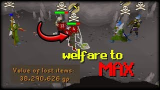 I WENT INTO MULTI WITH THIS RISK.. (Welfare to Max) (#3)