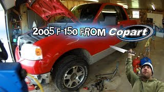 Repair on the Ford F-150 I got at Copart.