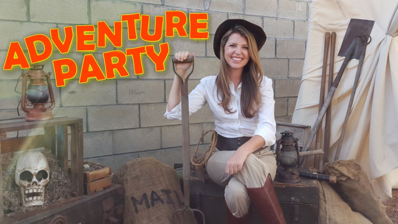 How To Decorate For An Indiana Jones Theme Party