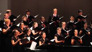 "USC Chamber Singers: ""Emerald Stream"" by Seth Houston"